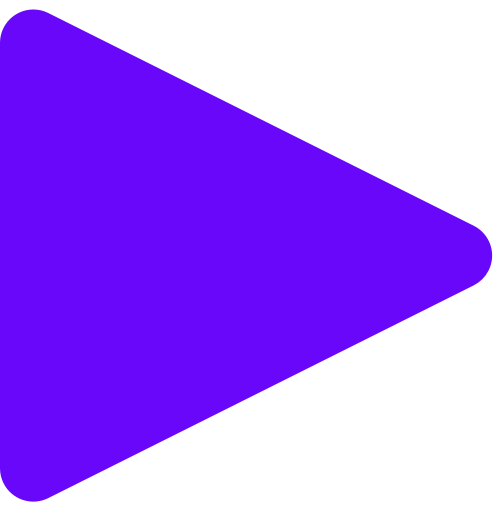 Triangle play icon
